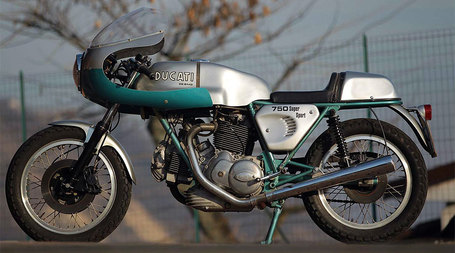 Ducati 750 SS: Bella Figura | Ductalk | Scoop.it