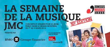 JM CANADA: La Semaine De La Musique | JMI Network | Scoop.it