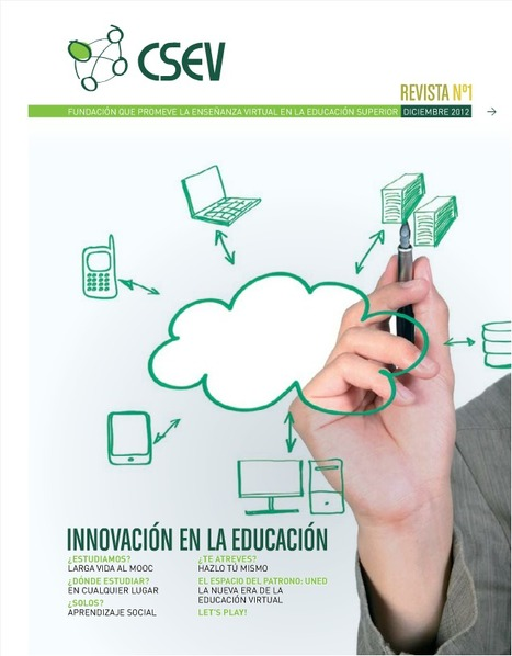 [PDF] Revista CSEV | e-Ducacion | Scoop.it