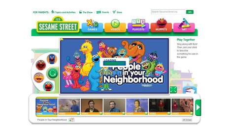 Sesame Street- People and Places in the Neighbourhood | Relationship between environments and people; Stage1 students will learn about the uses of places in their local area | Scoop.it