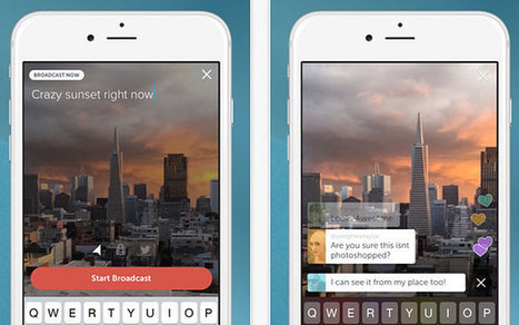 Periscope - the social media app that can make you a TV star - Telegraph.co.uk | Multimedia Journalism | Scoop.it
