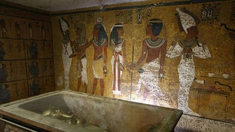 Egypte: probable découverte d'une chambre secrète dans la tombe de Toutankhamon | Clic France | Scoop.it