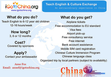 Gap year China » Anne Fox | 21stC learning in low resource environments | Scoop.it