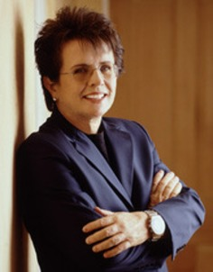 Tennis legend Billie Jean King says women need more female role models | Herstory | Scoop.it