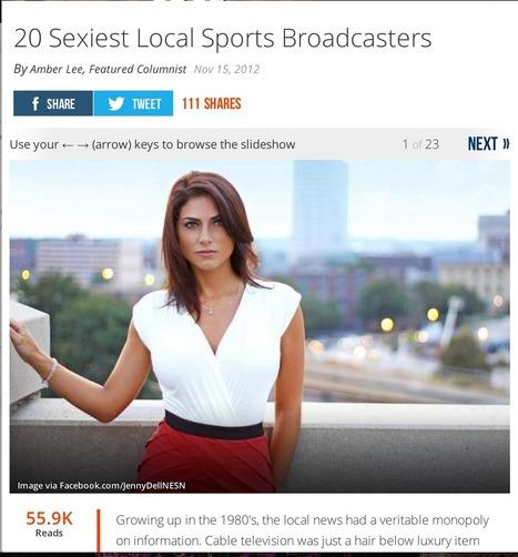 Sports Journalism is Failing Women | Women in Sports Journalism | Scoop.it
