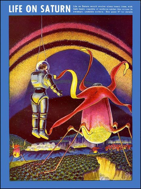 1936-1939: Life On Other Planets from Frank Rudolph Paul (1884 – 1963) | Random Ephemera | Scoop.it