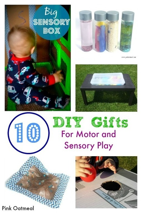 DIY Gift Ideas For Motor and Sensory Play | Learn through Play - pre-K | Scoop.it