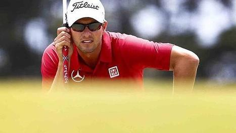 Remarkable bunker recovery lifts Adam Scott back into the big picture - Courier Mail | Improving Your Golf Swing | Scoop.it