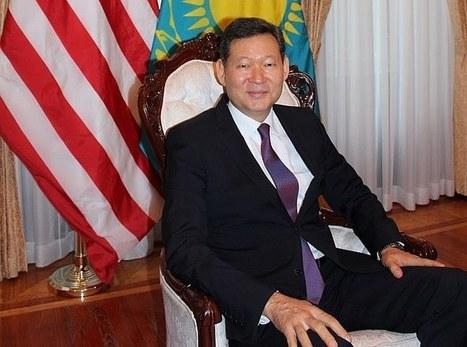 Кайрат Умаров: «США выразили намерение об участии в ЭКСПО». Интервью с Чрезвычайным и полномочным послом Казахстана в США | Kazakhstan | Scoop.it