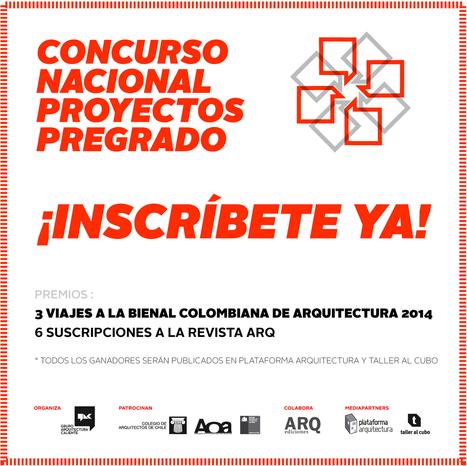 Inscripciones abiertas para el Concurso Nacional de Proyectos de Pregrado / Chile | Arquitectura - Buenas Prácticas | Scoop.it