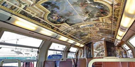 L'intérieur du RER C entièrement décoré façon Château de Versailles | Le BONHEUR comme indice d'épanouissement social et économique. | Scoop.it