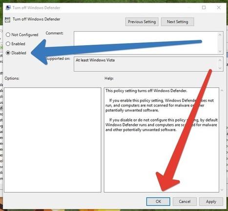 How to turn off Windows Defender - techyuga.com | HELP MY COMPUTER NOW | Scoop.it