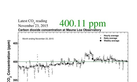 Humankind's Last Days Below 400 PPM CO2? | GarryRogers Biosphere News | Scoop.it