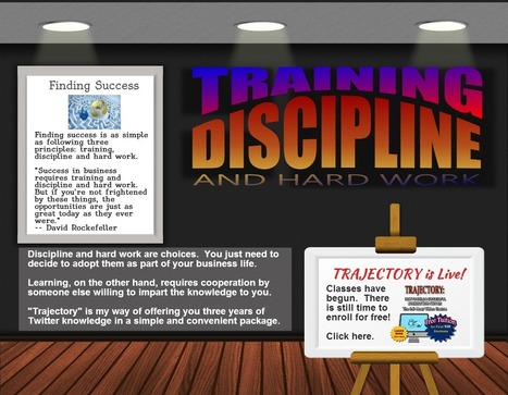 Finding Success – Training, Discipline and Hard Work (Infographic) : Jericho Technology, Inc.   Social Media   Scoop.it