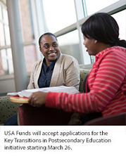 USA Funds Grant Opportunity: Key Transitions in Postsecondary Education | College Access and Success | Scoop.it