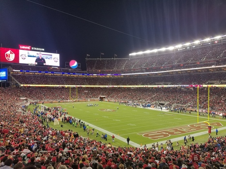 Behind the scenes at high-tech Levi's Stadium, where the WiFi is never more than 10 feet away | itsyourbiz | Scoop.it