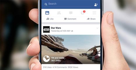 Anche su Facebook arrivano i video 360° | Fotografia news | Scoop.it
