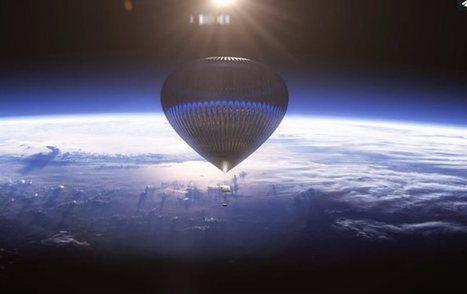 En 2016, on pourra voyager dans l'espace à bord d'une montgolfière | Aérostation, ballons et dirigeables | Scoop.it
