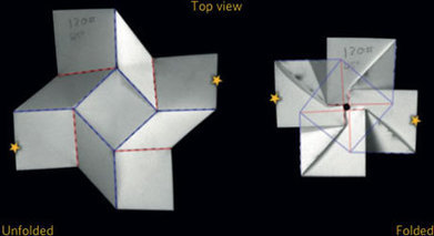 Popular origami pattern makes the mechanical switch | MatNet | Scoop.it