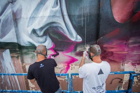 TELMO MIEL - Artistic Duo, Muralists and imagemakers. | #Design | Scoop.it