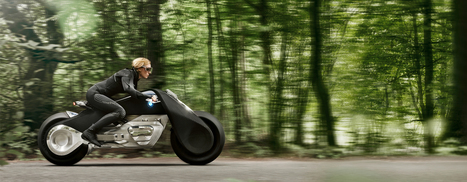the BMW motorrad VISION NEXT 100 motorcycle | What's new in Design + Architecture? | Scoop.it