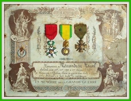 La Campagne du soldat Marcel Marandeau pendant la Guerre de 1914-1918 - www.histoire-genealogie.com | Nos Racines | Scoop.it