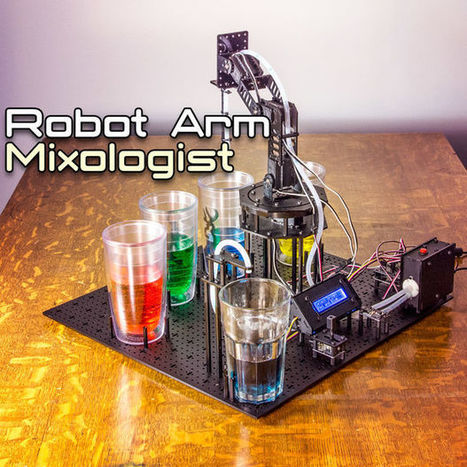 Arduino Robot Arm Mixologist | Raspberry Pi | Scoop.it