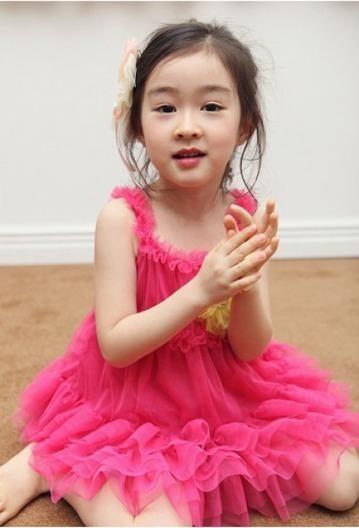 Beautiful Designer Hot Pink Little Princess Dress for Summer | Online Baby Accessories | Scoop.it
