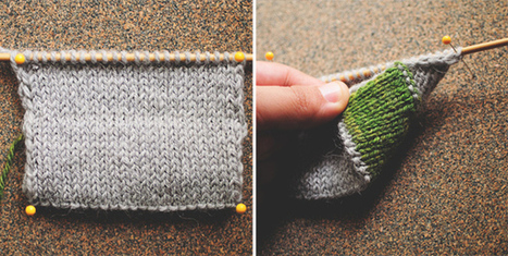 5 Knitting Edges You Should Know! | Spinning, Weaving and Knitting | Scoop.it