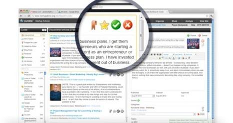 Un software qui facilite la curation de contenu pour les PME | L'Atelier: Disruptive innovation | curation definition | Scoop.it