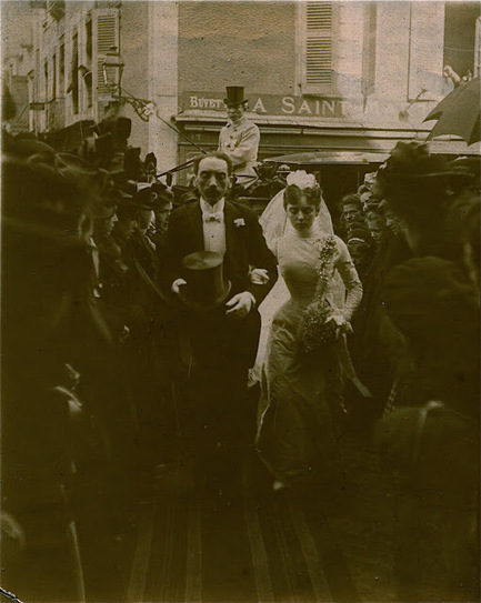 Degrés de parenté: Un mariage en 1900 : des photos originales | Rhit Genealogie | Scoop.it