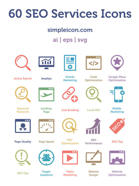 Download 60 SEO Services Icons | The Official Photoshop Roadmap Journal | Scoop.it