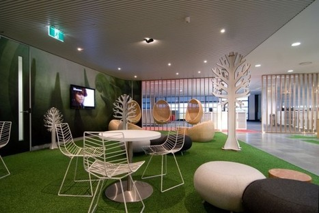 Modern Office Lounge Design with Nature-Inspired Furniture | Simple Decorating Ideas For Home | Scoop.it