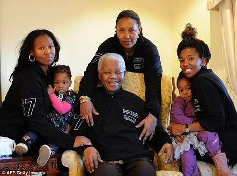 The Mandela legacy: How family of inspirational leader who preached peace are at war over his £10million fortune | Research Capacity-Building in Africa | Scoop.it