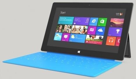 Des détails sur la Microsoft Surface RT 2 | Telecom et applications mobiles | Scoop.it