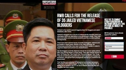 RSF pide la liberación de 35 bloggers vietnamitas encarcelados | Periodismo Ciudadano | Periodismo Ciudadano | Scoop.it