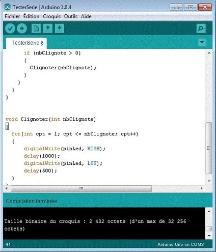 Python, Arduino et PySerial : communication série | truc2geek | Arduino, Processing | Scoop.it