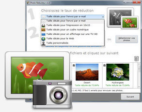Photo Réducteur 2013 - Logiciel de réduction de photo pour optimiser l'envoi par email | tice | Scoop.it