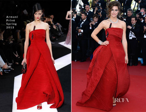 Alyson Le Borges In Armani Privé - 'Blood Ties' Cannes Film Festival ... | TAFT: Trends And Fashion Timeline | Scoop.it