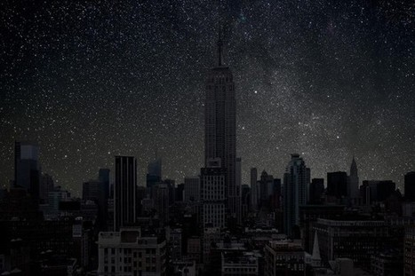 Stunning Photos of Cities Without Light Pollution | Science, I choose you! | Scoop.it