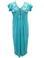 Boho Sleepwear Embroidered Hosiery Cotton Nighty Gypsy Summer Wear For Women's | caftan Kaftan | Scoop.it