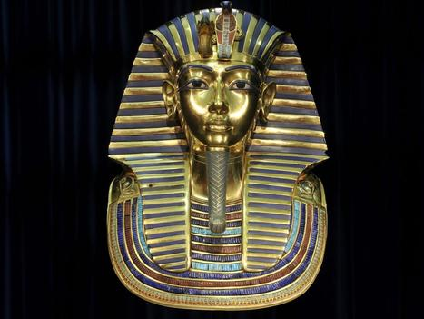 The surprising truth behind King Tut's gold death mask | Aux origines | Scoop.it