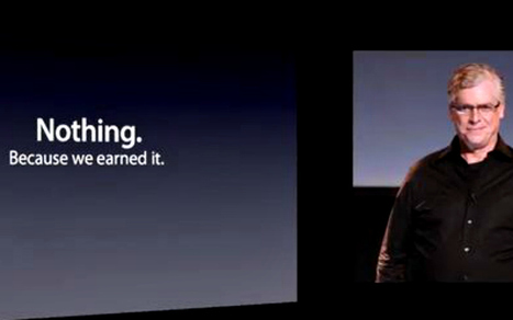 Apple Parody Has Your 'One More Thing' Moment: 'We're Buying Google'   Life @ Work   Scoop.it