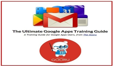 Una guía gratuita para profesores sobre Google Apps | Aprender y educar | Scoop.it