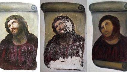 Painting of Christ ruined after artist botches restoration | AUDITORIA, mouseion Broadband | Scoop.it