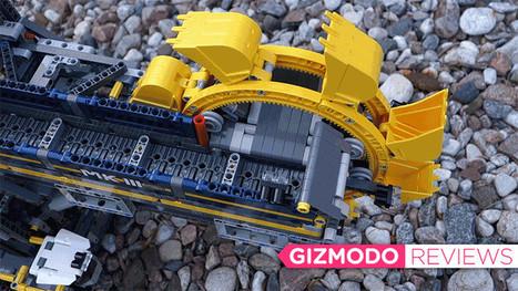 Building Lego's Gigantic Motorized Excavator Is Easily My Greatest Accomplishment | Heron | Scoop.it