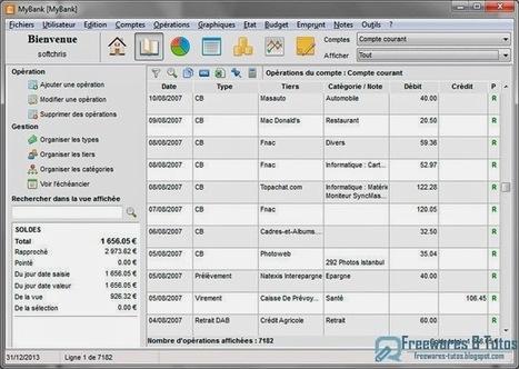 MyBank : un gestionnaire de finances personnelles gratuit | Outils 2.0 | Scoop.it