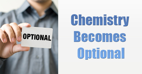 Chemistry becomes optional for Engineering Admission! | JEE Main 2014 | Scoop.it