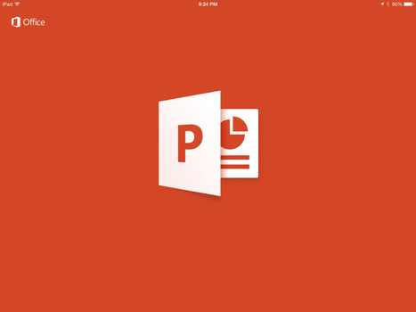 PowerPoint for iPad - Worth a Second Look [VIDEO] - teachingwithipad.org | Herramientas TIC en Educación | Scoop.it