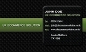 Business card template Mosaic | Cheap Business Cards | UK Ecommerce Software Solutions | Online Shopping cart | Scoop.it
